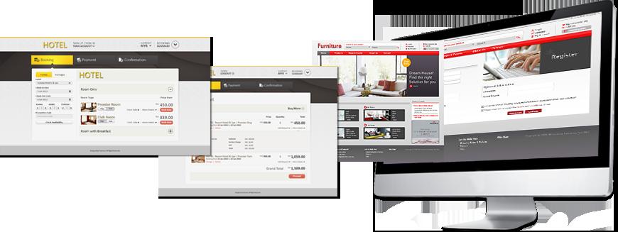 eCommerce / Internet Booking Engine